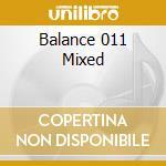 Balance 011 cd musicale