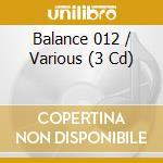 Balance 012 cd musicale