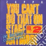 You cant do that 2 cd musicale di Frank Zappa