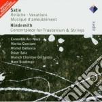 Apex: trautonium concerto - musiques rep cd musicale di Hindemith - satie\co