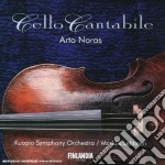 Cello cantabile cd musicale di VARI\NORAS - LEHTINE