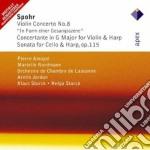 Apex: violin concerto n.8 -sonata per ce cd musicale di Spohr\amoyal - jorda