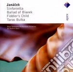 Janacek - Davis A. - Apex: Sinfonietta - Taras Bulba - Ballad Of Blanek cd musicale di A. Janacek\davis