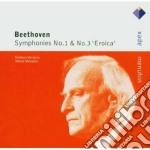 Apex: sinfonie nn. 1 & 3 cd musicale di Beethoven\menuhin