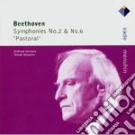 Apex: sinfonie nn. 2 & 6 cd musicale di Beethoven\menuhin