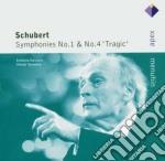 Apex: sinfonie nn. 1 & 4 cd musicale di Schubert\menuhin