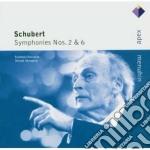 Apex: sinfonie nn. 2 & 6 cd musicale di Schubert\menuhin