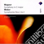 Apex: sinfonia in do - sinfonie nn. 1 & cd musicale di Wagner - weber\rasil