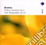 Brahms - Harnoncourt - Bouchbinder - Apex: Piano Concerto N. 2 - Rapsodia Op. 79 cd musicale di Brahms\harnoncourt -