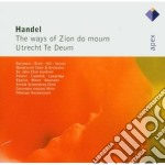 Apex: the ways of zion do mourn - utrech cd musicale di Handel\gardiner - ha