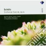 Apex: sinfonia sacrae op. 6 cd musicale di Saquebout Schutz\les