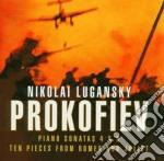 Piano sonate 4 & 6 - 10 pezzi da romeo e cd musicale di PROKOFIEV\LUGANSKY