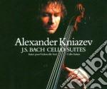 Suites per violoncello 1-6 cd musicale di BACH\KNIAZEV