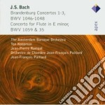 Bach - Koopman - Rampal - Abo - Apex: Concerti Brandeburghesi 1-2-3 - Flauto Conc. cd musicale di Bach\koopman - rampa