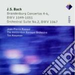 Apex: concerti brandeburghesi nn. 4, 5 & cd musicale di Bach\koopman - rampa