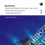 Apex: trii per pianoforte nn. 3 & 4 cd musicale di Trio Beethoven\haydn