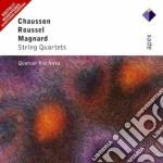 Apex: quartetti per archi cd musicale di Chausson - roussel -