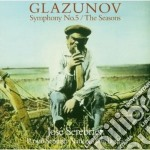 Grazunov - Serebrier - Sinfonia N. 5 - The Seasons Ballet cd musicale di GRAZUNOV\SEREBRIER