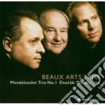 Piano trio n. 4 & piano trio n. 1 cd musicale di DVORAK - MENDELSSOHN