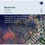 Apex opera: l'orfeo (selezione) cd musicale di Monteverdi\harnoncou