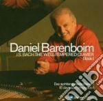 Il clavicembalo ben temperato : libro 1 cd musicale di BACH\BARENBOIM