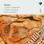 Apex: 3 concerti per violino (45-56-82) cd musicale di Scimon Tartini\toso-