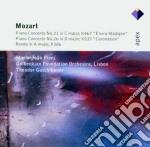 Mozart - Pires - Guschlbauer - Apex: Piano Concerti 21 & 26 - Rondo Kv386 cd musicale di Wolfgang Amadeus Mozart