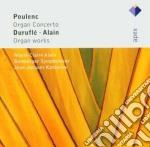 Apex: concerti per organo cd musicale di Poulenc - alain - du