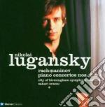 Piano concerti nn. 2 & 4 cd musicale di RACHMANINOV\LUGANSKY