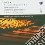 Apex: romanian rhapsodies - suites cd musicale di Enescu\foster