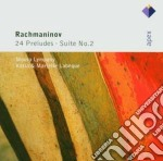 Apex: seconda suite op. 17 e 24 preludi cd musicale di Rachmaninov\labeque