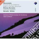 Apex: russian favourites (celebri compos cd musicale di Mussorgsky - rimsky