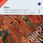 Apex: sinfonie per organo 1-2-3-4-5-6-9 cd musicale di Widor\alain marie cl