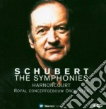 Le sinfonie + 2 ouvertures in stile ital cd musicale di SCHUBERT\HARNONCOURT