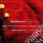 Trii 1 & 2 - 7 romanze su versi di block cd musicale di A Shostakovich\beaux