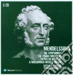 Sinfonie 1-5 / piano concerti 1&2 / capr cd musicale di MENDELSSOHN\MASUR -
