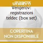 Vengerov: registrazioni teldec (box set) cd musicale di VARI\VENGEROV - MASU
