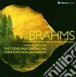 Sinfonie 1-4 - concerto per violino cd musicale di Brahms\dohnanyi (bo
