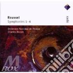 APEX: SINFONIE 1-4 cd musicale di Roussel\dutoit