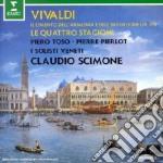 APEX: CIMENTO DELL'ARMONIA E DELL'INVENT cd musicale di Vivaldi\scimone - so