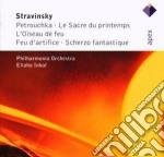 APEX: PETROUCHKA - UCCELLO DI FUOCO - SA cd musicale di Stravinsky\inbal