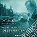 Sinfonie nn. 3 & 6 cd musicale di Dvorak\serebrier - b