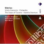 Apex: violin concerto - finlandia - kare cd musicale di Sibelius\masur - zeh