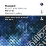 Apex: quadri di un'esposizione - sinfoni cd musicale di Mussorgsky - prokofi
