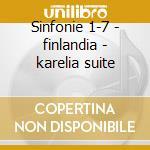 Sinfonie 1-7 - finlandia - karelia suite cd musicale di Sibelius\oramo (box