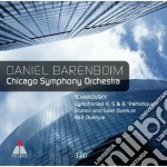 Sinfonie 4, 5 & 6 - romeo & juliet - 181 cd musicale di Tchaikovsky\barenboi