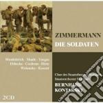 Opera bl: die soldaten cd musicale di Zimmermann\kontarsky