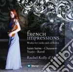 French impressions cd musicale di Saint saens - chauss