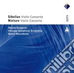 Sibelius - Nielsen - Barenboim - Vengerov - Apex: Concerti Per Violino cd musicale di Sibelius - nielsen\b