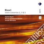 Mozart - Repin - Menuhin - Apex: Concerti Per Violino 2,3 & 5 cd musicale di Mozart\repin - menuh